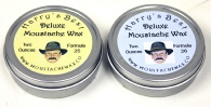 Harry's Moustache Wax 2 oz Tins